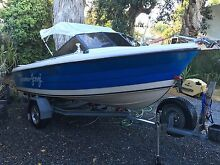 Nesscraft runabout 16.5ft fibre glass Surrey Downs Tea Tree Gully Area Preview