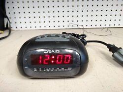 Craig AM/FM Alarm Clock Radio (Model No. CR45329B)