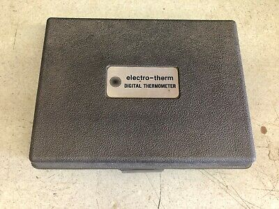 Electro-therm Ht-680 Digital Thermometer W Probe And Molded Case