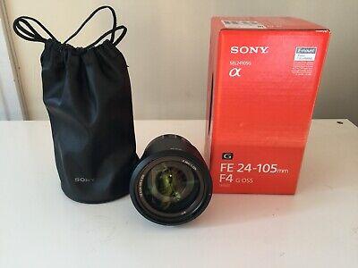 Sony SEL FE 24-105mm F/4-22 G OSS Lens