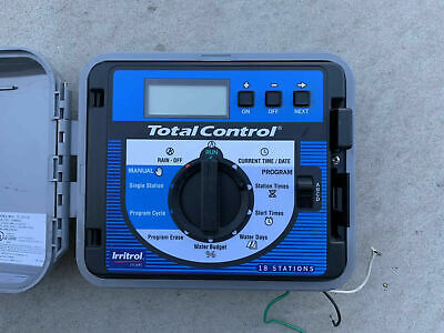Irritrol TC-18EX-B 18 Station Total Control Guaranteed! Ships Fast! TC-18