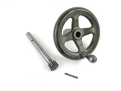 South Bend Heavy 10 10l Lathe Apron Handwheel And Pinion Gear W Tapered Pin