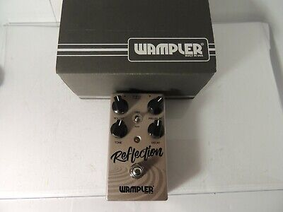 Wampler Reflection Reverb Effects Pedal Guitar Free USA Ship