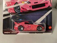 Hot Wheels GBW75-81 Honda S2000 pink Fast /& Furious Maßstab 1:64 NEU!°