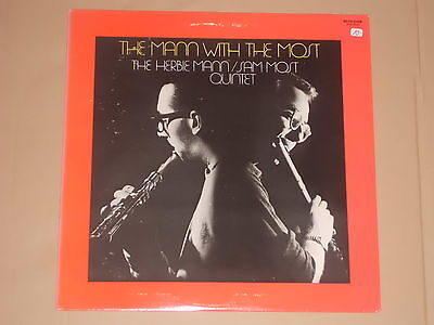 THE HERBIE MANN / SAM MOST QUINTET -The Mann With The Most- LP