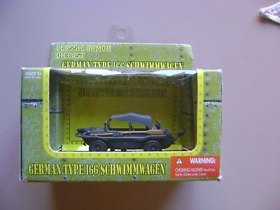 Toy Armor (New Millenium Toys Classic Armor German 1/48 Type 166 Schwimmwagen - new and)