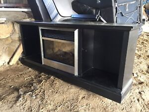 TV Stand w/ Built In Fireplace