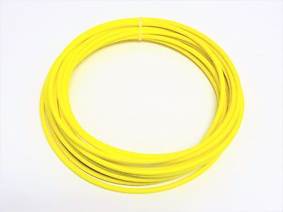Automotive Wire 10 Awg High Temperature Gxl Wire Yellow 25 Ft Made In U.s.a