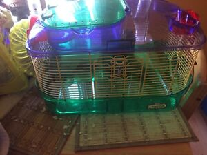 CritterTrail small animal cage + Accessories