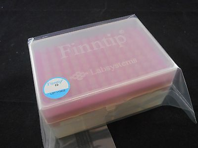 New Thermo Labsystems Finntip Filtered Micro 10l Pipet Tips 1 Rack96 9405200