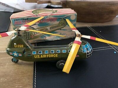 PIASECKI US Air Force HELICOPTER IN ORIGINAL BOX MADE JAPAN 15