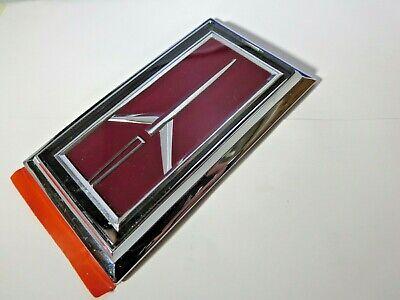 New 1977 - 1990 Oldsmobile Custom Cruiser station wagon tail gate emblem NOS