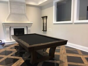 POOL TABLES AND GAME TABLES