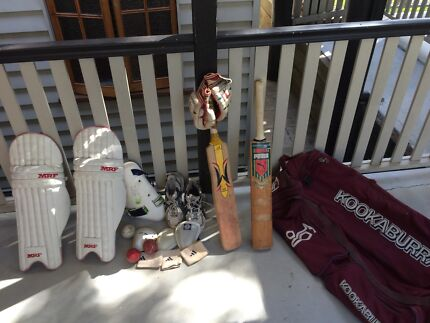 Full cricket kit Northgate Brisbane North East Preview