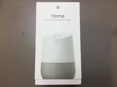 Brand NEW Google Home Smart Assistant - White Slate Factory Packaging