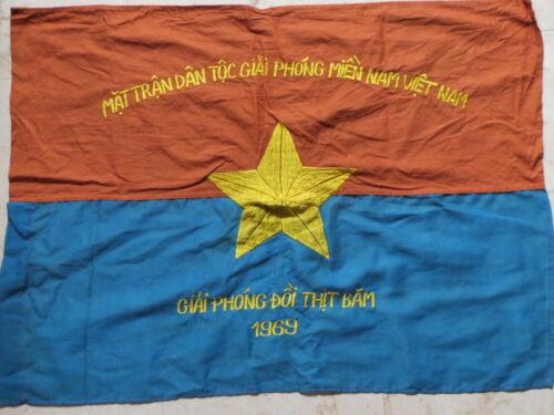 Battle of Hamburger Hill 1969 , Battle Flag , Flag , NVA flag ,  VC VIETNAM WAR