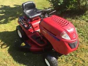 Toro riding lawnmower for sale