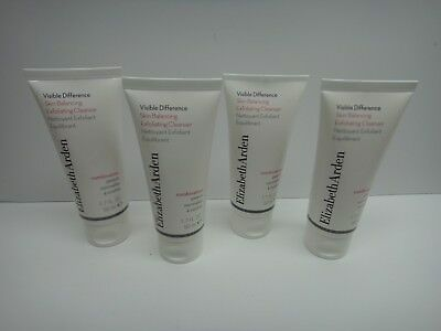 X4 Elizabeth Arden Visible Difference Skin Balancing Exfoliating Cleanser 1 7 Oz