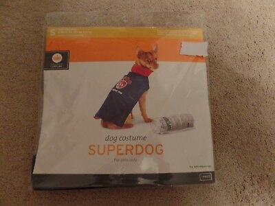 Dog, Halloween Costume, SUPER DOG, 1-Piece, Size:Small, New with Tags - Super Dog Halloween Costume