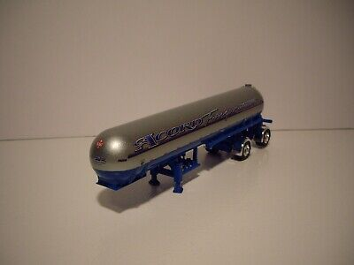 DCP 1/64 ACCORD TRANS LOGOED BLUE AND SILVER MISSISSIPPI LPG TANKER