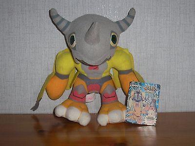 Digimon Wargreymon mit Pappetikett 20cm Stofftier Plüsch Plüschtier War Greymon