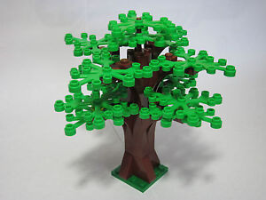 LEGO custom forest tree with 14 green leaves, new parts, FREE Shipping!