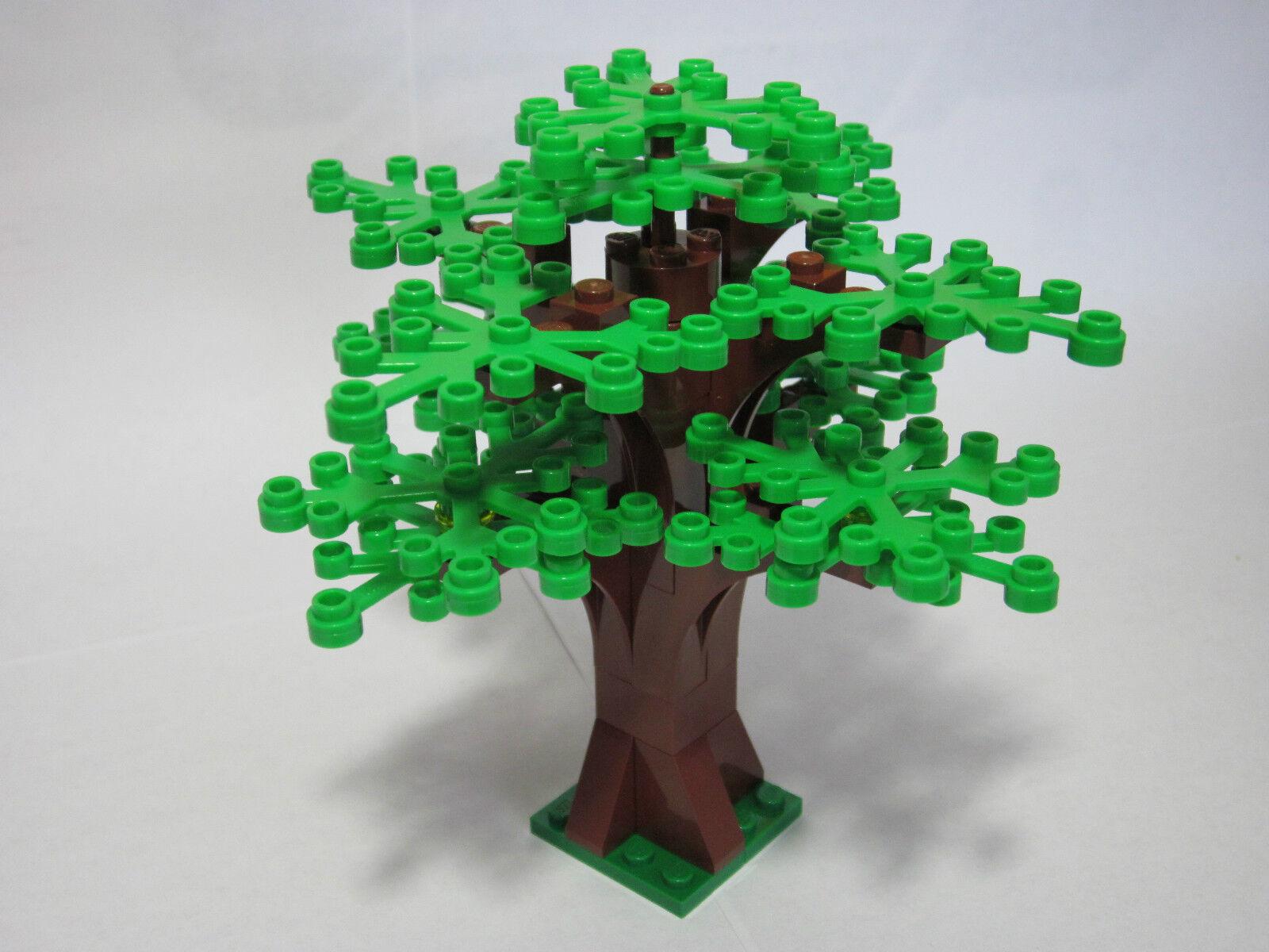 Как сделать из лего базу на дереве