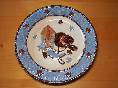 Home Studio CANYON RANCH Dinner Plate 10 7/8