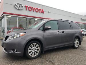 2015 Toyota Sienna Limited, AWD, New Tires, DVD Player, Off Leas