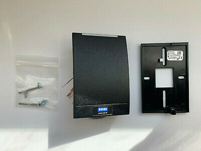 Hid 920ptnnek00000 Multiclass Se Rp40 Wall Switch Card Reader - Black