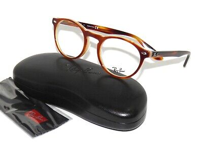 Ray Ban 5283 5677 49 Havana Horn Brown Eyeglasses Rayban (Cheap Ray Ban Glasses Sale)