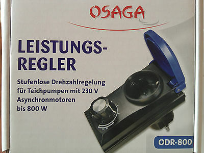 Osaga ODR 800 Leistungsregler Drehzahlsteller Drehzahlregler