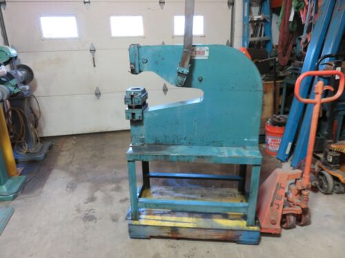 """ROPER WHITNEY # 33  18"""" LEVER PUNCH 8 TON PUNCH PRESS DIACRO,PEXTO METAL PUNCH"""