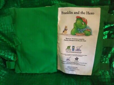 Fairytale Storybook Pillow Plush Bedtime Franklin and the hero turtle