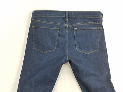 Polyester Flared Jeans Cut Pants (J Brand Martini Womens Flare Leg Boot Cut Denim Jeans Pants sz 29 actual 31 )