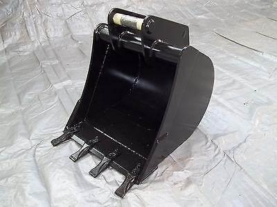 Tieflöffel Baggerlöffel Aufnahme MS03 Baggerschaufel für Minibagger 600 mm breit