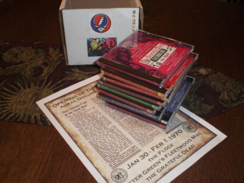 9-Disc FLEETWOOD MAC / GRATEFUL DEAD 1970 Opening of The Warehouse CD series