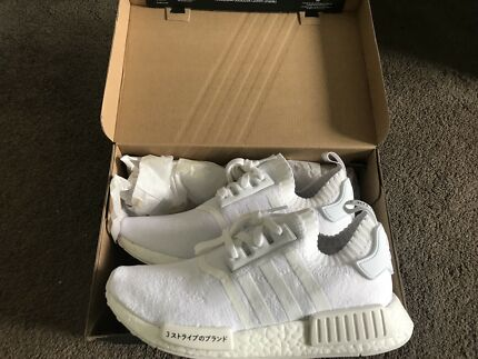 Adidas NMD R1 Japan Triple White Men's US8