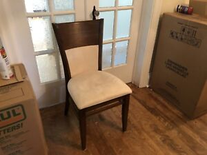 Dining room chairs - set of 6