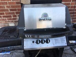 BBQ broil king working GAS