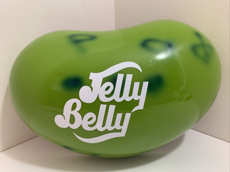 Jelly Belly Jelly Bean Wall Decoration Candy Store Advertising Sign Green
