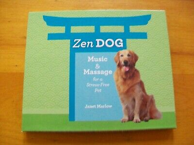 Zen Dog: Music & Massage for a Stress-Free Pet by Janet Marlow (CD & DVD.2008)