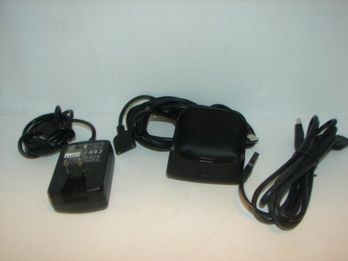A/C charger / Docking station and Synchronization cables for Treo 600