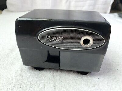Panasonic Auto Stop Electric Pencil Sharpener Kp-310 Tested And Working