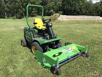 "Flail Deck, John Deere Front Mount Mowers:Peruzzo 1600HD 63"" Finish & Rough Cut!"