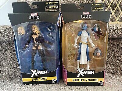 Marvel Legends X-Men Walgreens Exclusives Emma Frost Mystique Hasbro