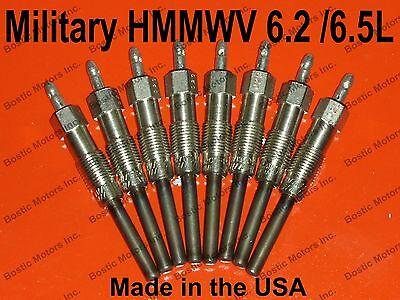 Military HMMWV 6.5 L 6.2 L Diesel Glow Plugs M998 M1114 Glowplugs M1123 Hummer