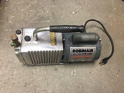 Robinair High Vacuum Pump Model 15102b Hvac 3 Cfm- Forparts Only