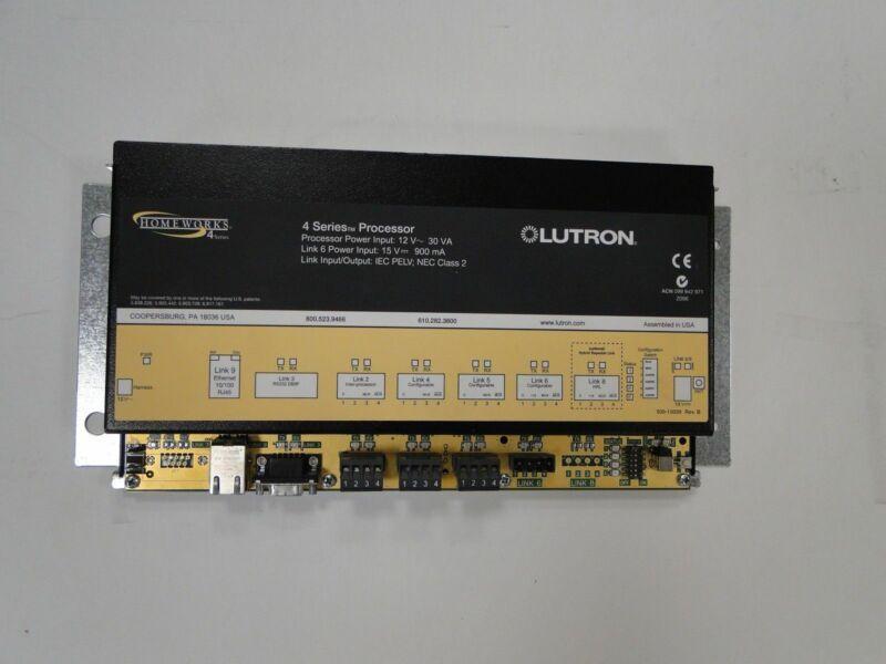 LUTRON HOMEWORKS H4P5-120 Illumination Processor  - New Battery.
