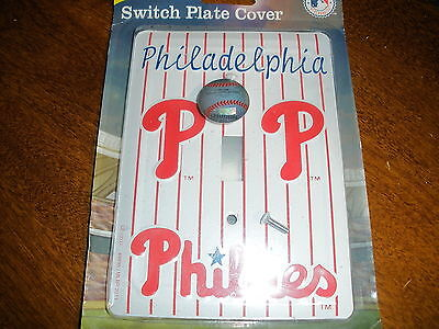 NEW Philadelphia Phillies switch plate cover